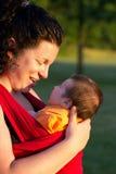 μαμά μωρών Στοκ Φωτογραφία
