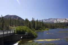 Μαμμούθ λίμνες, Καλιφόρνια Στοκ φωτογραφίες με δικαίωμα ελεύθερης χρήσης