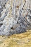 Μαμμούθ καυτές ανοίξεις, εθνικό πάρκο Yellowstone Στοκ Φωτογραφία