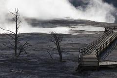 Μαμμούθ καυτές ανοίξεις Στοκ εικόνα με δικαίωμα ελεύθερης χρήσης