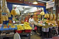 Μανάβικο σε Chinatown Μπανγκόκ Στοκ Φωτογραφίες