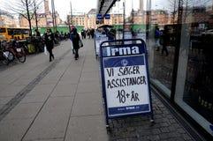 ΜΑΝΆΒΙΚΟ DANSH ΠΟΥ ΜΙΣΘΏΝΕΙ ΤΏΡΑ Στοκ εικόνες με δικαίωμα ελεύθερης χρήσης