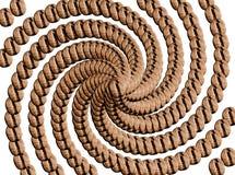 μανία καφέ απεικόνιση αποθεμάτων