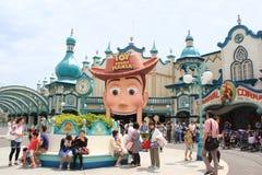 Μανία του Toy Story στο Τόκιο DisneySea στοκ φωτογραφία