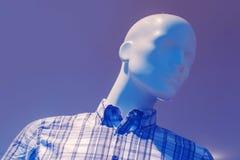 Μανεκέν μπουτίκ καταστημάτων εξόδου, αρσενικό πορτρέτο αριθμού Στοκ φωτογραφία με δικαίωμα ελεύθερης χρήσης