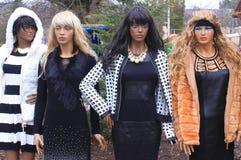 Μανεκέν μόδας Στοκ φωτογραφίες με δικαίωμα ελεύθερης χρήσης