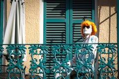 Μανεκέν στη γαλλική συνοικία, Νέα Ορλεάνη Στοκ Εικόνες