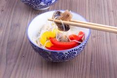 Μανιτάρι chopstick Στοκ εικόνες με δικαίωμα ελεύθερης χρήσης