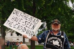 ΜΑΝΤΙΣΟΝ, WI - 26 Ιουλίου 2014: Ένα εμπαθές μέλος Στοκ εικόνα με δικαίωμα ελεύθερης χρήσης
