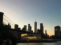 Μανχάταν της Νέας Υόρκης στοκ εικόνες