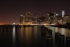 Μανχάτταν πόλη Νέα Υόρκη η Αμερική δηλώνει ενωμένο Στοκ εικόνες με δικαίωμα ελεύθερης χρήσης