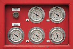 Μανόμετρο δύο πίεσης Στοκ φωτογραφίες με δικαίωμα ελεύθερης χρήσης