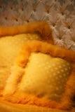 μαξιλάρια κίτρινα Στοκ φωτογραφίες με δικαίωμα ελεύθερης χρήσης
