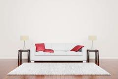 μαξιλάρια καναπέδων από το &kap Στοκ Εικόνες