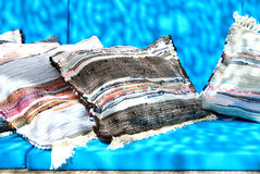 μαξιλάρια καναπέδων Στοκ Εικόνα