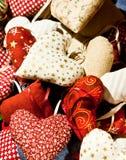 μαξιλάρια καρδιών στοκ εικόνα με δικαίωμα ελεύθερης χρήσης