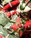 μαξιλάρια Χριστουγέννων στοκ εικόνες με δικαίωμα ελεύθερης χρήσης