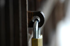 μαξιλάρι κλειδωμάτων στοκ φωτογραφίες