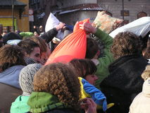 μαξιλάρι πάλης Στοκ εικόνες με δικαίωμα ελεύθερης χρήσης