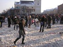 μαξιλάρι πάλης Στοκ Φωτογραφίες