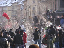 μαξιλάρι πάλης Στοκ εικόνα με δικαίωμα ελεύθερης χρήσης