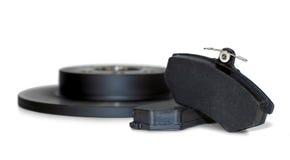 Μαξιλάρια φρένων και δίσκος φρένων Στοκ φωτογραφία με δικαίωμα ελεύθερης χρήσης