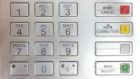 Μαξιλάρι καρφιτσών του ATM Στοκ εικόνα με δικαίωμα ελεύθερης χρήσης