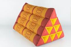 Μαξιλάρι τριγώνων από την Ταϊλάνδη στοκ εικόνα