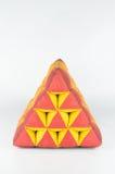 Μαξιλάρι τριγώνων στοκ φωτογραφία με δικαίωμα ελεύθερης χρήσης