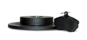 Μαξιλάρι φρένων και δίσκος φρένων Στοκ Φωτογραφία