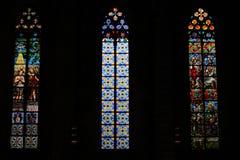 Μαρία del Mar Cathedral, Βαρκελώνη στοκ φωτογραφίες με δικαίωμα ελεύθερης χρήσης