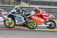 Μαρία Herrera Moto3 Grand Prix Movistar Aragà ³ ν Στοκ Φωτογραφίες