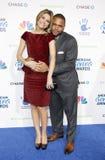 Μαρία Menounos και Anthony Άντερσον Στοκ Φωτογραφία