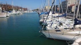 Μαρίνα λιμένων Rimini στοκ εικόνες