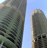 μαρίνα πόλεων του Σικάγο&upsil Στοκ Εικόνες