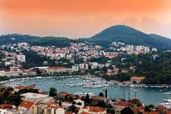 Μαρίνα σε Dubrovnik Στοκ εικόνα με δικαίωμα ελεύθερης χρήσης