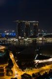 μαρίνα Σινγκαπούρη κόλπων Στοκ Εικόνα