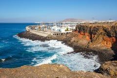 Μαρίνα στο BLANCA Playa, Lanzarote Στοκ εικόνα με δικαίωμα ελεύθερης χρήσης