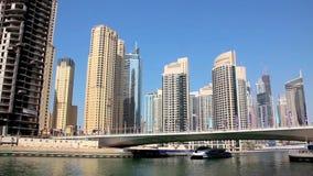 Μαρίνα του Ντουμπάι. Ηνωμένα Αραβικά Εμιράτα φιλμ μικρού μήκους