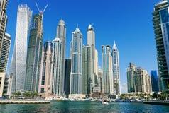 Μαρίνα του Ντουμπάι, Ντουμπάι Ε.Α.Ε. Στοκ Εικόνες