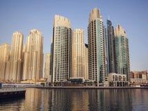 μαρίνα του Ντουμπάι στοκ φωτογραφίες με δικαίωμα ελεύθερης χρήσης
