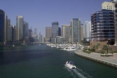 Μαρίνα του Ντουμπάι Στοκ φωτογραφία με δικαίωμα ελεύθερης χρήσης