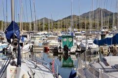 Μαρίνα του Argelès-sur-mer στη Γαλλία Στοκ Φωτογραφίες