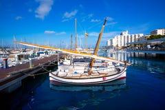 Μαρίνα του San Antonio Abad Ibiza Sant Antonio de Portmany Στοκ φωτογραφία με δικαίωμα ελεύθερης χρήσης