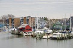 Μαρίνα Annapolis Στοκ εικόνες με δικαίωμα ελεύθερης χρήσης
