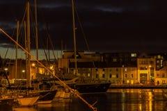 Μαρίνα Dockland, Galway, Ιρλανδία Στοκ Φωτογραφία