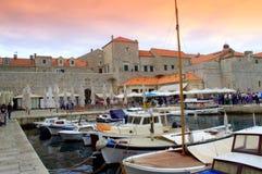 Μαρίνα Dubrovnik Στοκ εικόνες με δικαίωμα ελεύθερης χρήσης
