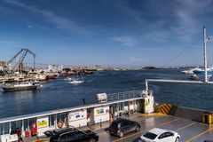 Μαρίνα Pendik και θαλάσσιος λιμένας της Ιστανμπούλ - της Τουρκίας στοκ εικόνα