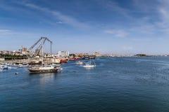Μαρίνα Pendik και θαλάσσιος λιμένας της Ιστανμπούλ - της Τουρκίας στοκ φωτογραφίες
