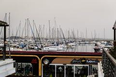 Μαρίνα Pendik και μεταφορά θάλασσας - Τουρκία Στοκ Εικόνες